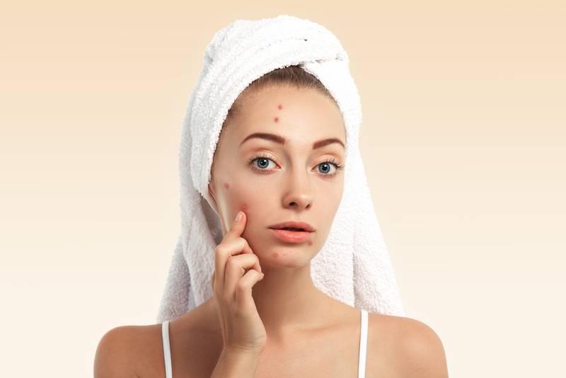reflexología facial zonas rostro granitos