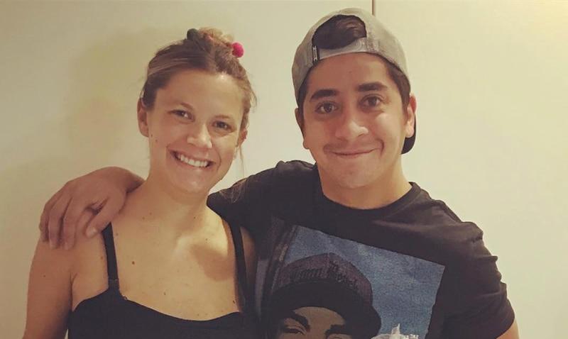 Ornella y Fernando Godoy