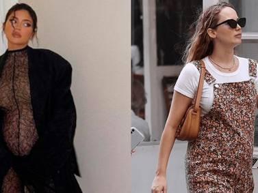 Jennifer Lawrence y Kylie enseñan cómo llevar tenis en looks elegantes para embarazadas