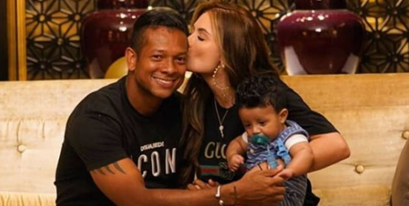 Sara Uribe y Fredy Guarín