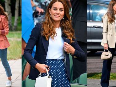 Kate Middleton enseña los mejores trucos para armar outfits si eres una chica de hombros anchos