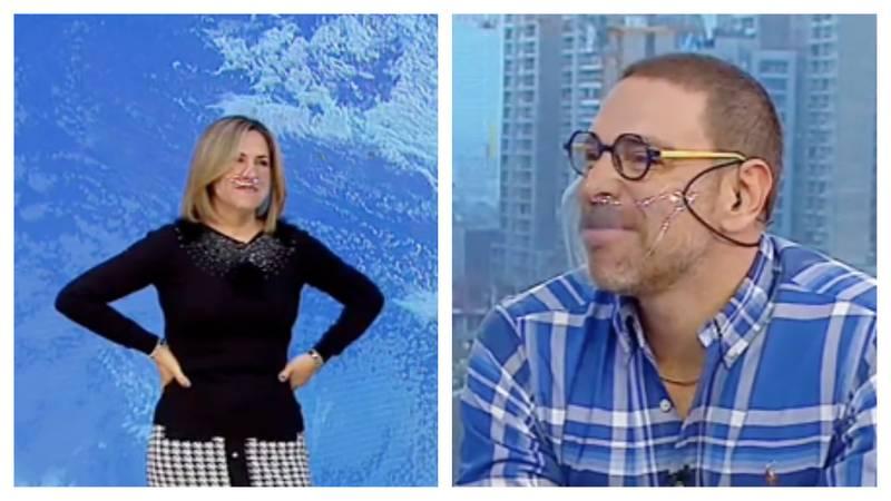 Michelle Adam y José Antonio Neme